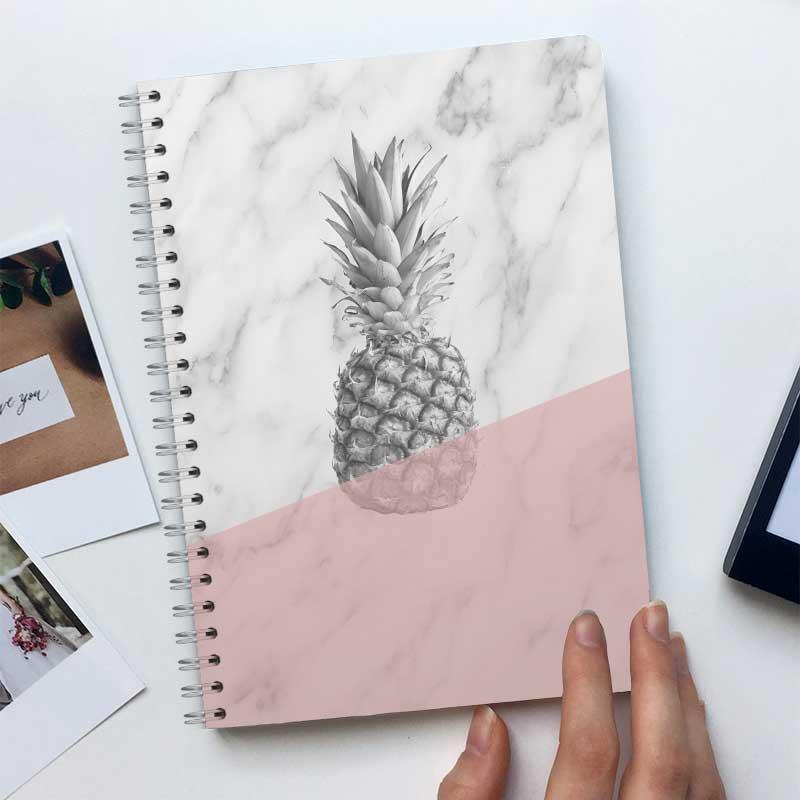 Ananas Marmor Pink