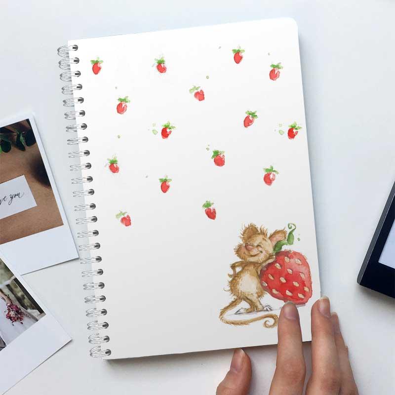 Erdbeer-Maus