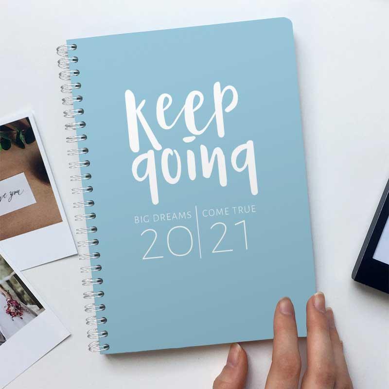 Keep Going Blau